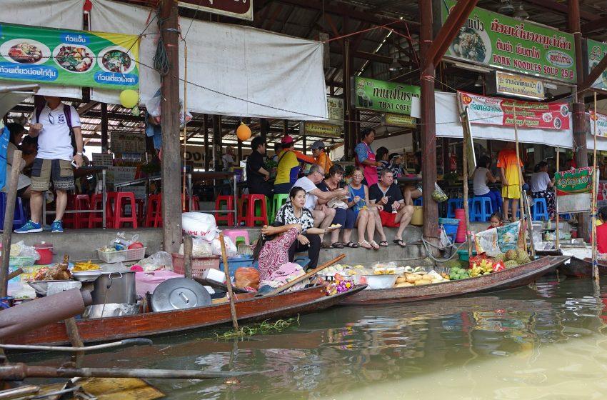 תאילנד השוק הצף : בנגקוק