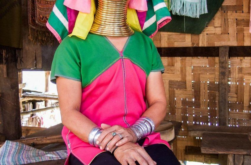 תאילנד תמונות משבט ארוכות הצואר