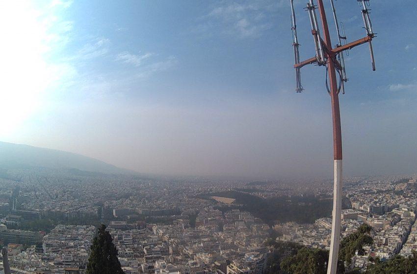 אתונה דקה וחצי תצפית מגבעת לקויטוס