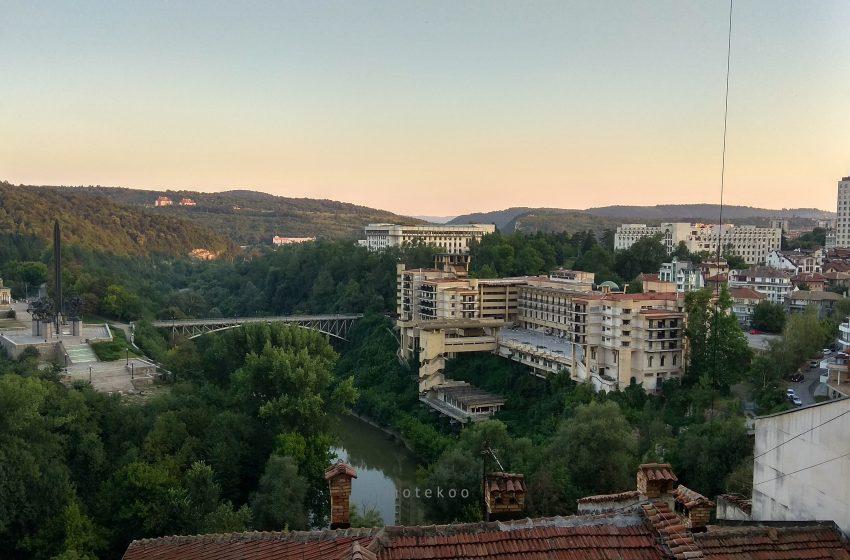 בולגריה וליקו טרנובו נוף נהר יאנטרה