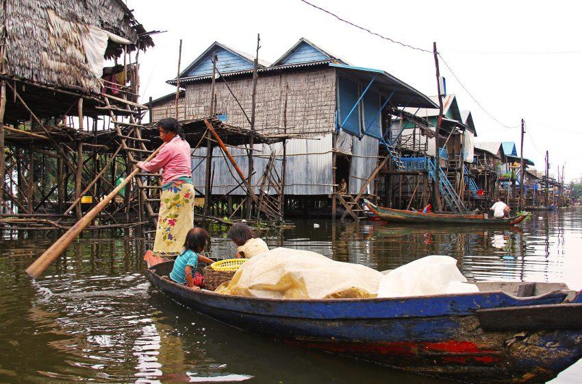 סיכום טיול בקמבודיה  יום 14  נוסע מפנום פן לסיאם ריפ.