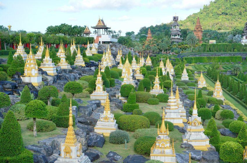 תאילנד פטאיה ריקוד מקלות