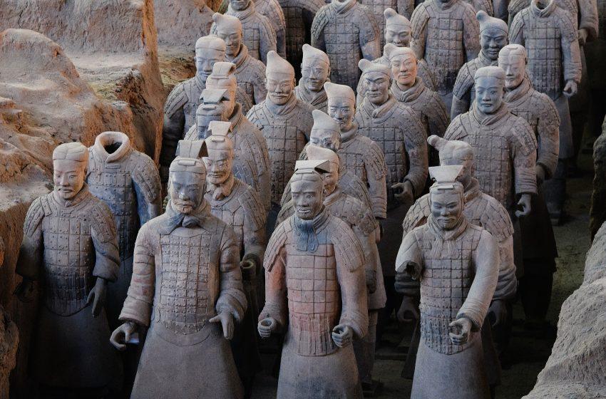 סין מערת חיילי הטרקוטה