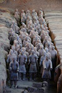 סין  חייל  הטרקוטה Xian